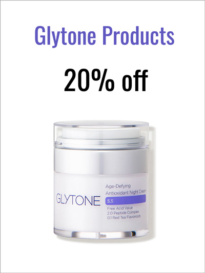Glytone Products - 20% 0ff